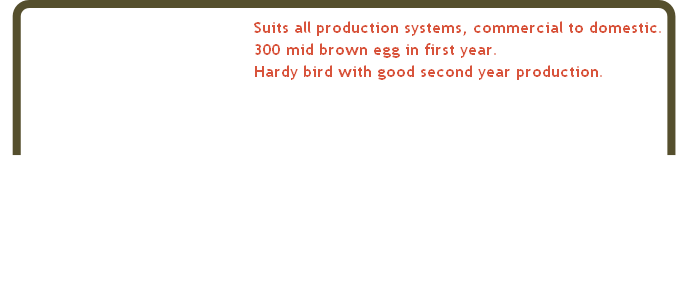 Suits all production systems, commercial to domestic.